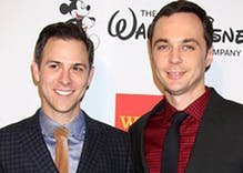 Photos: Actor Jim Parsons marries longtime boyfriend in swanky ceremony