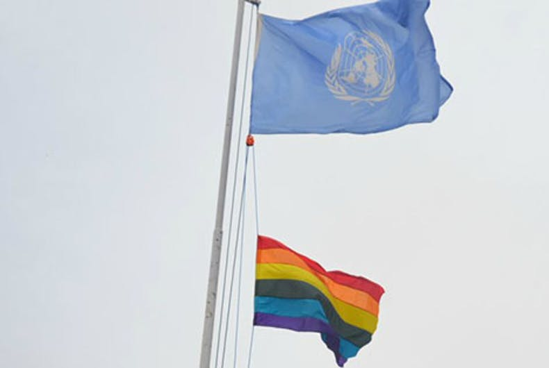 Historic day in Nepal as Pride flag flies for very first time
