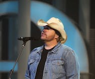 Toby Keith performs to a male-only audience