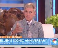 Ellen DeGeneres tells Matt Lauer why Donald Trump isn't welcome on her show