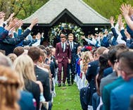 Tom Daley married Dustin Lance Black over the weekend & we have photos