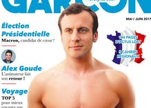 Russian newspaper says new French president is a gay 'psychopath'