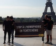 France takes in first gay refugee from Chechnya