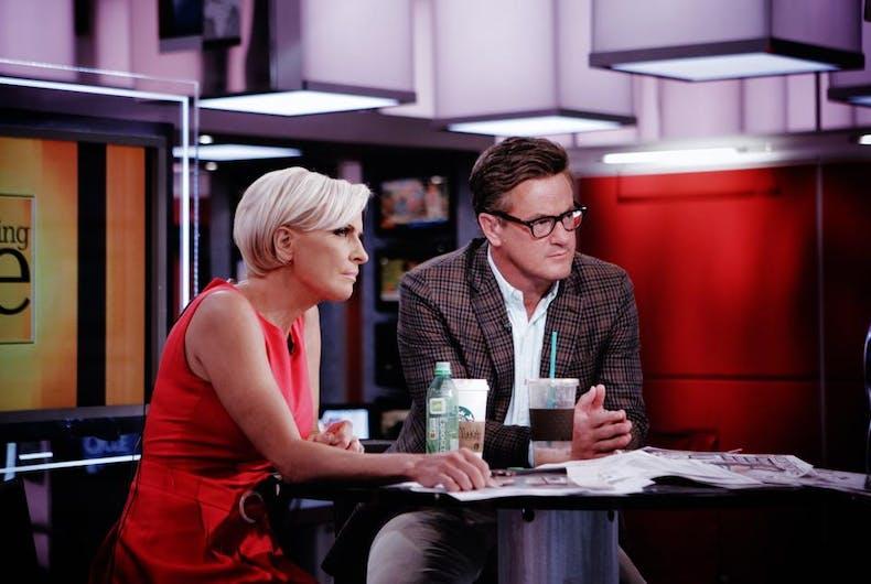 'Morning Joe' hosts Joe Scarborough & Mika Brzezinski are engaged