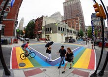 You can walk with pride in these cities with permanent rainbow crosswalks