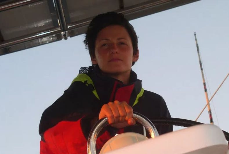 This lesbian fled Russia in a boat & sailed across the ocean to be with her love