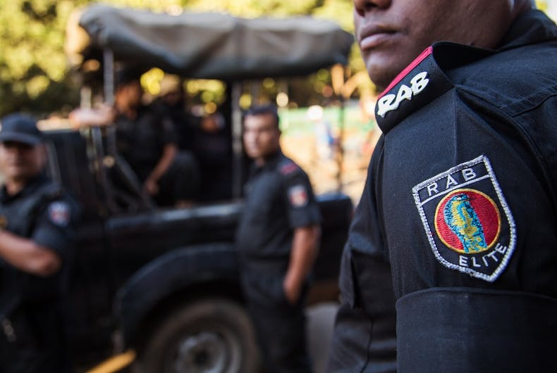27 men arrested by anti-terrorism police at gay party in Bangladesh