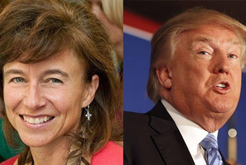 Teresa Manning Donald Trump