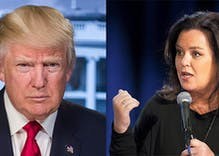 Donald Trump has rekindled his Twitter feud with Rosie O'Donnell