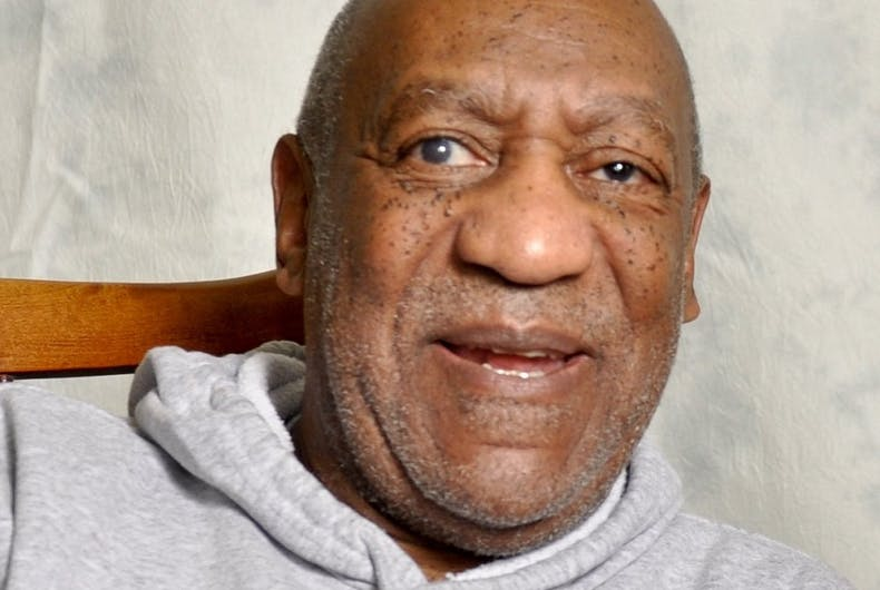 Bill Cosby tried to discredit rape victim by saying she's gay