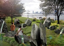 New York is getting an LGBT monument & it looks like someone destroyed Stonehenge