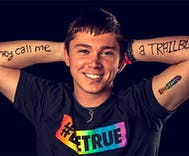 Texas school's only gay football player accepted by everyone except his parents