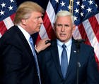 Trump & Kavanaugh praised by Mike Pence at evangelical Values Voter Summit