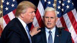 Trump & Kavanaugh praised by Mike Pence at evangelical Values Voter Summit