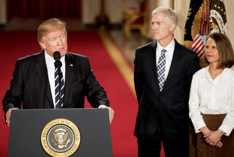 Supreme Court rules in favor of adoption rights, but Gorsuch dissents