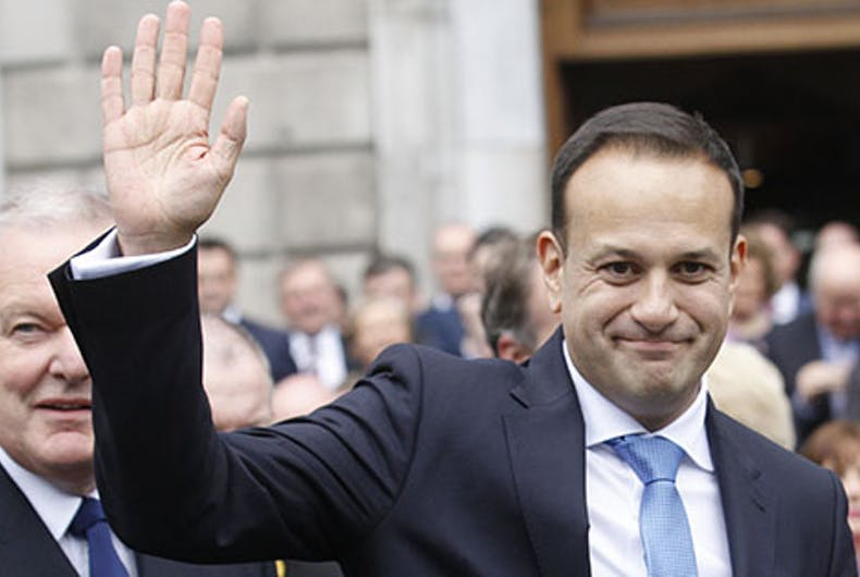 Irish Prime Minister says he'll address LGBTQ rights with Pope during pontiff's visit
