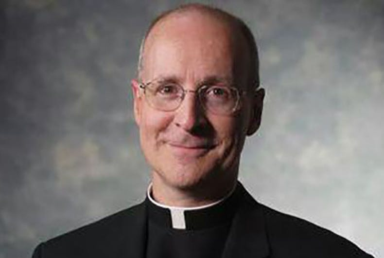 The Vatican priest building a bridge between the church & LGBTQ Catholics