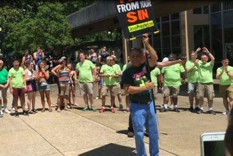 Gay Men's Chorus drowns out pride protest the best way possible: by singing