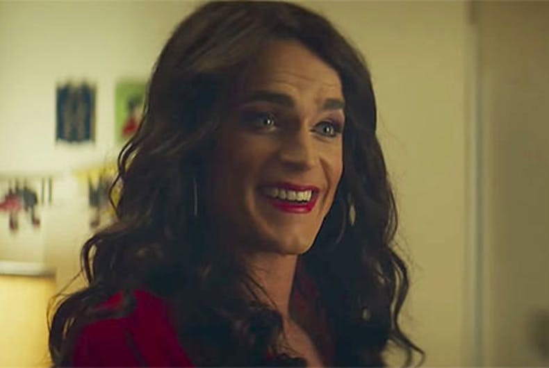 First look at Matt Bomer playing a trans woman in latest movie made by cis men