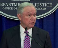 Jeff Sessions pledges to fight anti-trans violence at hate crimes summit