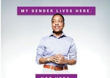 Toronto puts up ads to combat transphobia