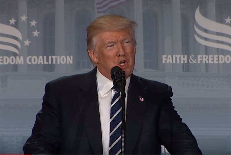 Trump Faith and Freedom Conference