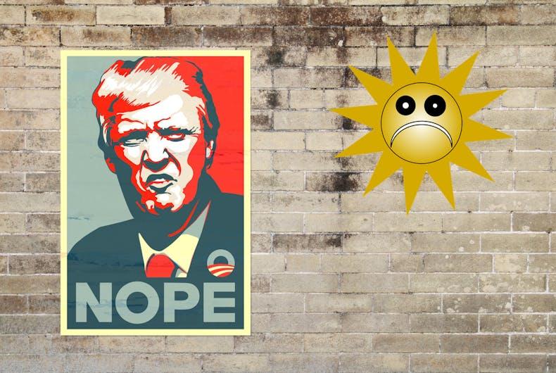 Donald Trump wall solar panels