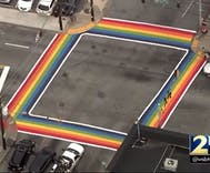 Atlanta marks Pride month & Pulse anniversary with permanent rainbow crosswalks
