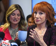 Kathy Griffin says the Trumps are 'trying to ruin my life forever'