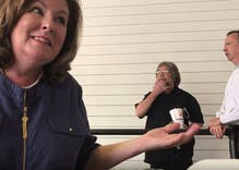Watch Karen Handel tell a mother that she's against her child's right to adopt