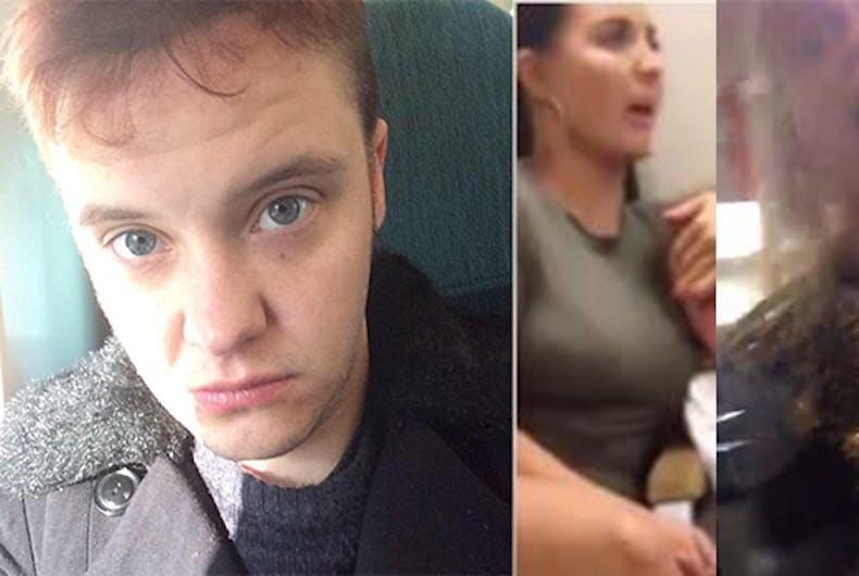 transgender man abuse london