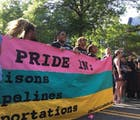 Protestors blocked DC's pride parade so it had to be rerouted