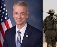 Republican congressman makes backward argument against trans soldiers