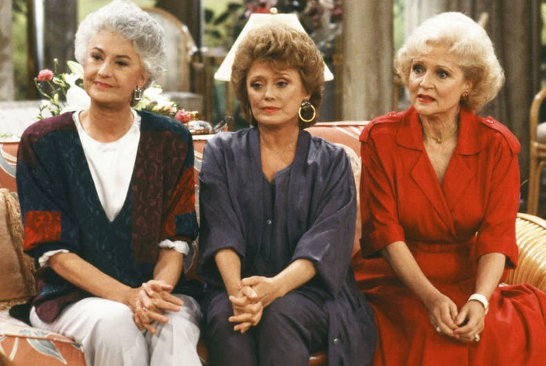 How the Golden Girls taught America about coming out & marriage equality