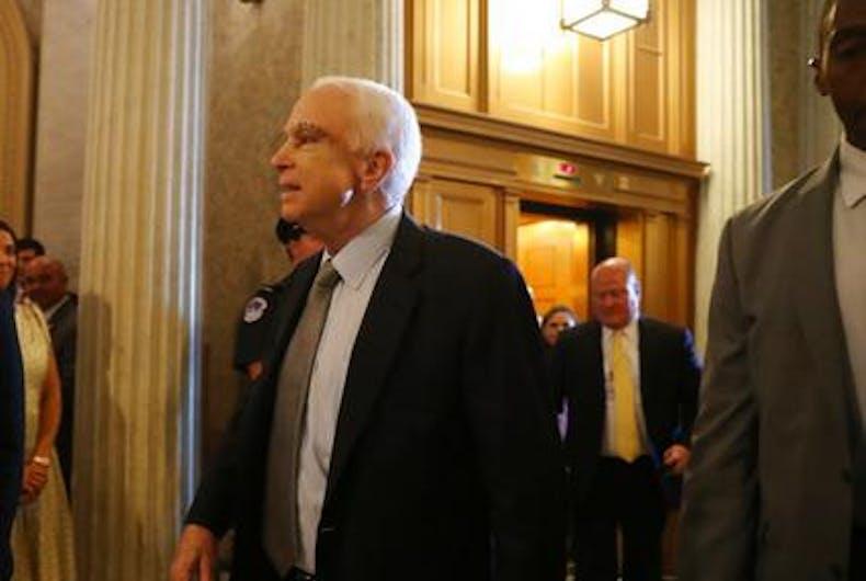 McCain health care vote