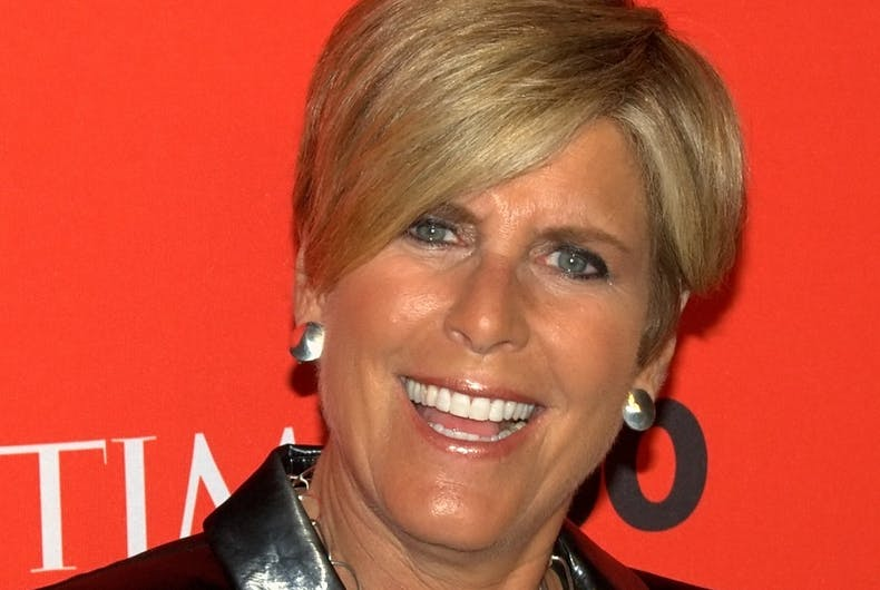 Suze Orman blames victims of anti-gay discrimination