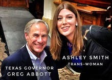 This trans woman trolled the Texas governor & you'll die of laughter