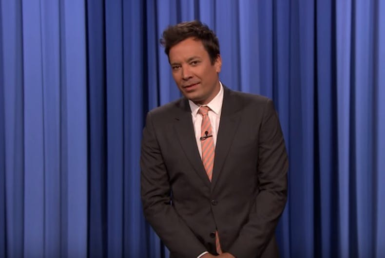 Fired up: Even Jimmy Fallon got political after Trump's transgender military ban