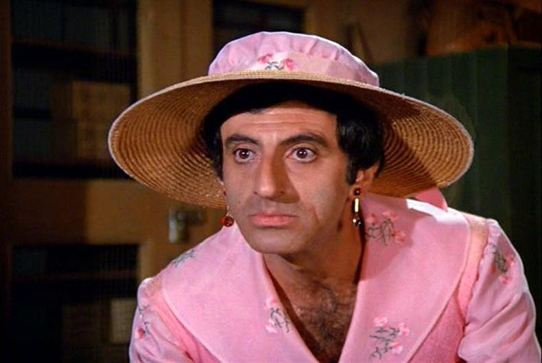 Posting photos of Corporal Klinger to social media isn't helping trans people