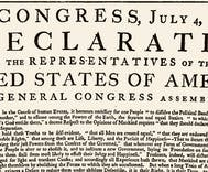 NPR tweeted the Declaration of Independence & some Trump supporters lost it