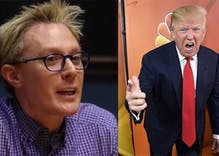 Clay Aiken says Donald Trump wasn't even trusted to run 'The Apprentice'