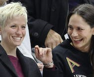 WNBA All-Star Sue Bird comes out & reveals she's dating soccer star Megan Rapinoe