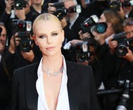 Charlize Theron 'took a dip in the lady pond'