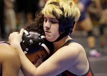 Transgender wrestler forced to compete with girls will defend his state championship