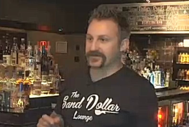 Las Vegas bar turns homophobic rant into a party