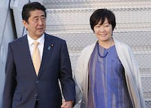 Did Japan's First Lady pretend she doesn't speak English to avoid talking to Trump?