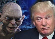 Gollum reads Donald Trump's tweets & they make more sense now