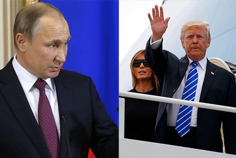 Trump Putin Democrats election meddling