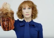 Here's the troubling letter a TV exec sent Kathy Griffin after Trump beheading controversy