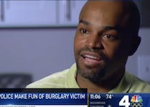 DC cops busted on surveillance camera mocking burglary victim in his home